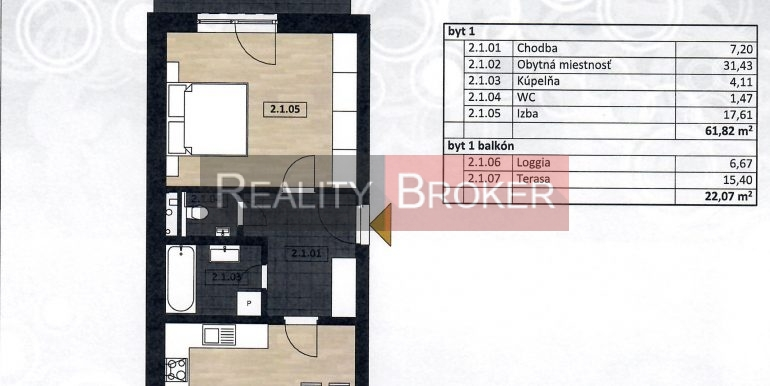 2 izb. SC centrum 001
