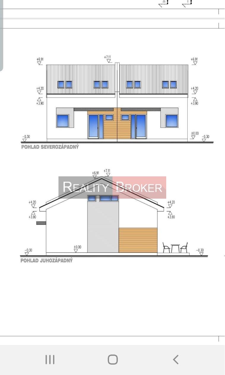 REALITY BROKER  ponúka  na predaj dvojpodlažný rodinný dom v Senci.