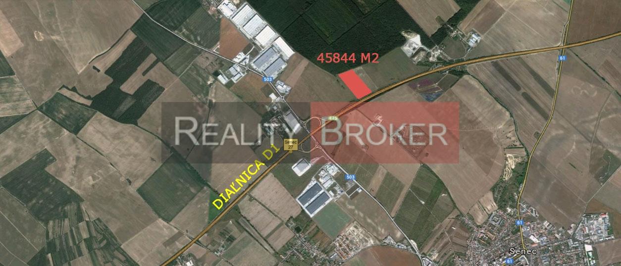 Ponúkame na predaj pozemok na priemyselné účely