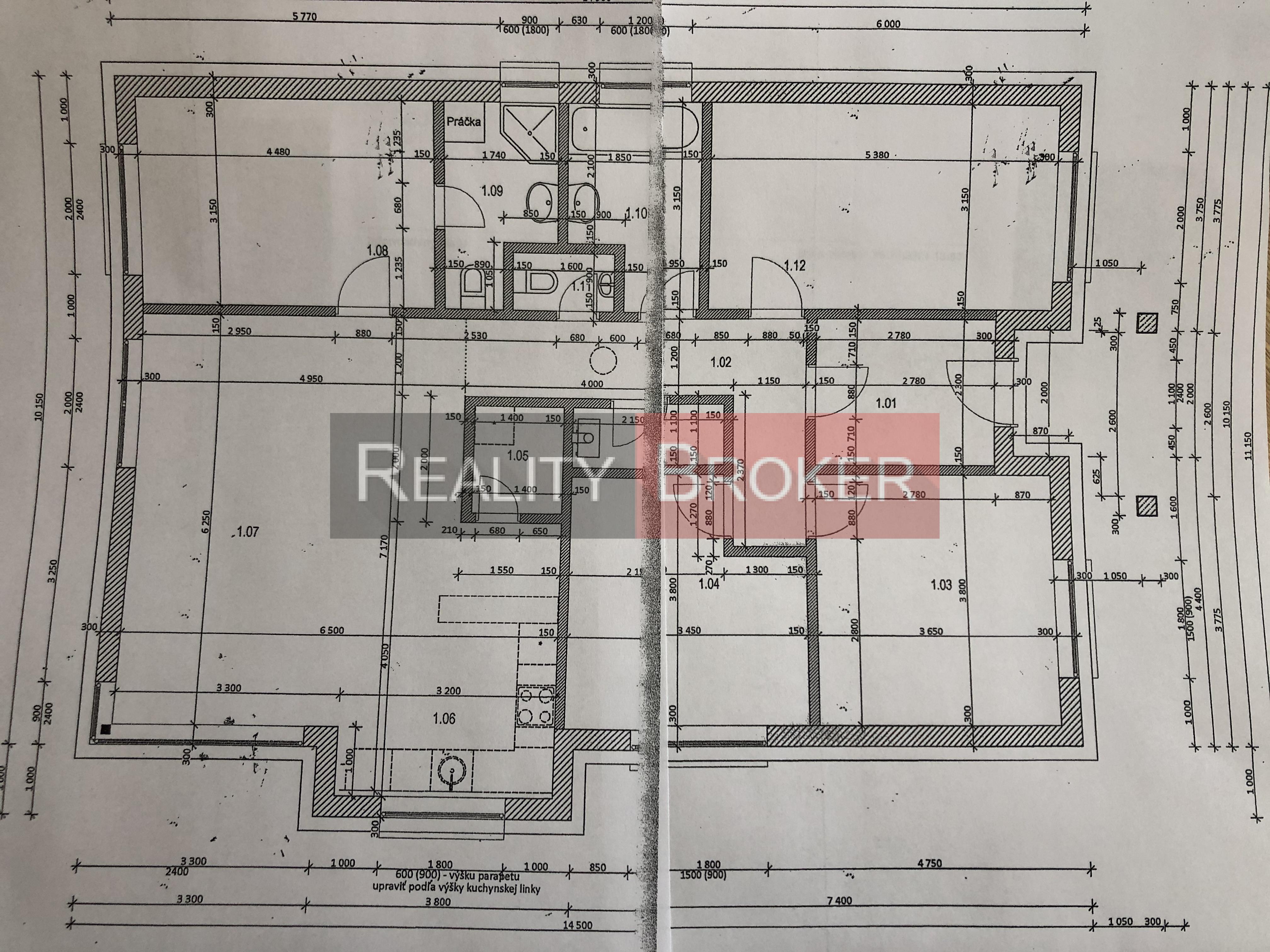 REALITY BROKER ponúka na predaj 5 izb. rodinný dom v k.u. Senec časť Južná brána